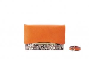 Clutch gianni chiarini 4900-seul-dia-mandarin-sasso - dettaglio 1