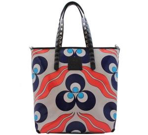 Shopping bag gabs lucrezia test p0081 cerchi e onde - dettaglio 1