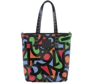 Shopping bag gabs lucrezia test p0082 numeri multicolor - dettaglio 1