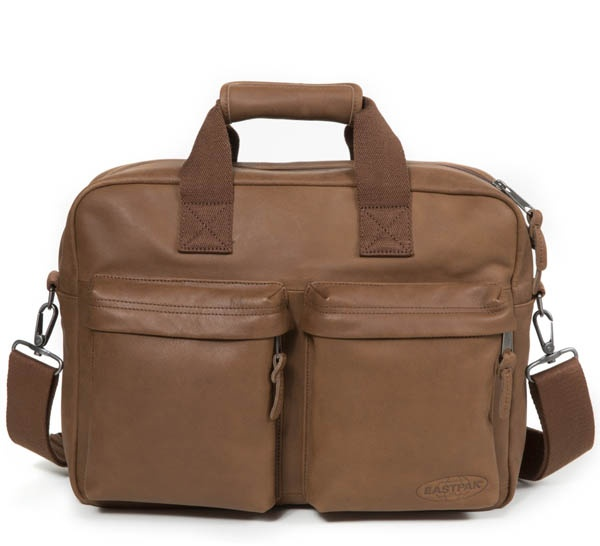 Borsa a tracolla eastpak tomec brownie leather ek023 - dettaglio 1