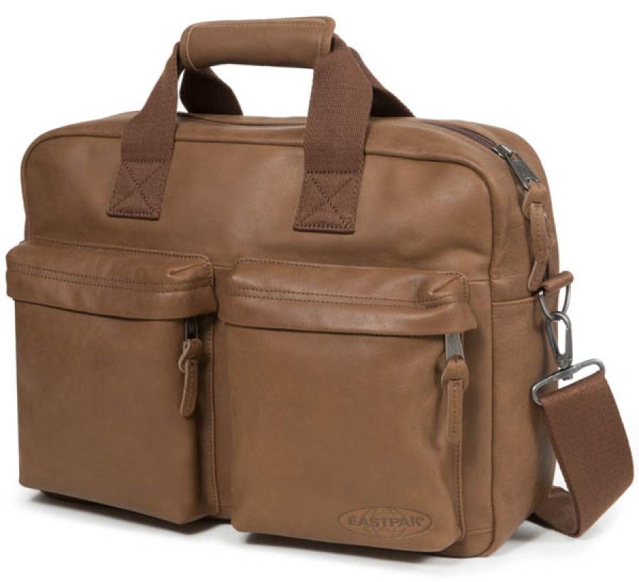 Borsa a tracolla eastpak tomec brownie leather ek023 - dettaglio 2