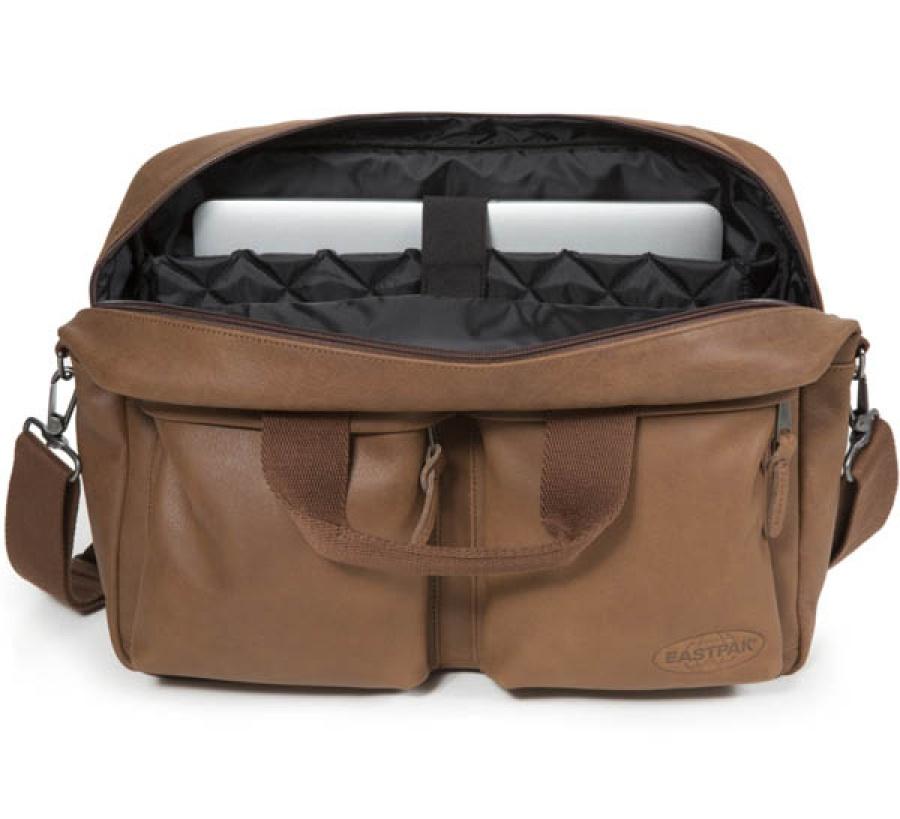 Borsa a tracolla eastpak tomec brownie leather ek023 - dettaglio 3