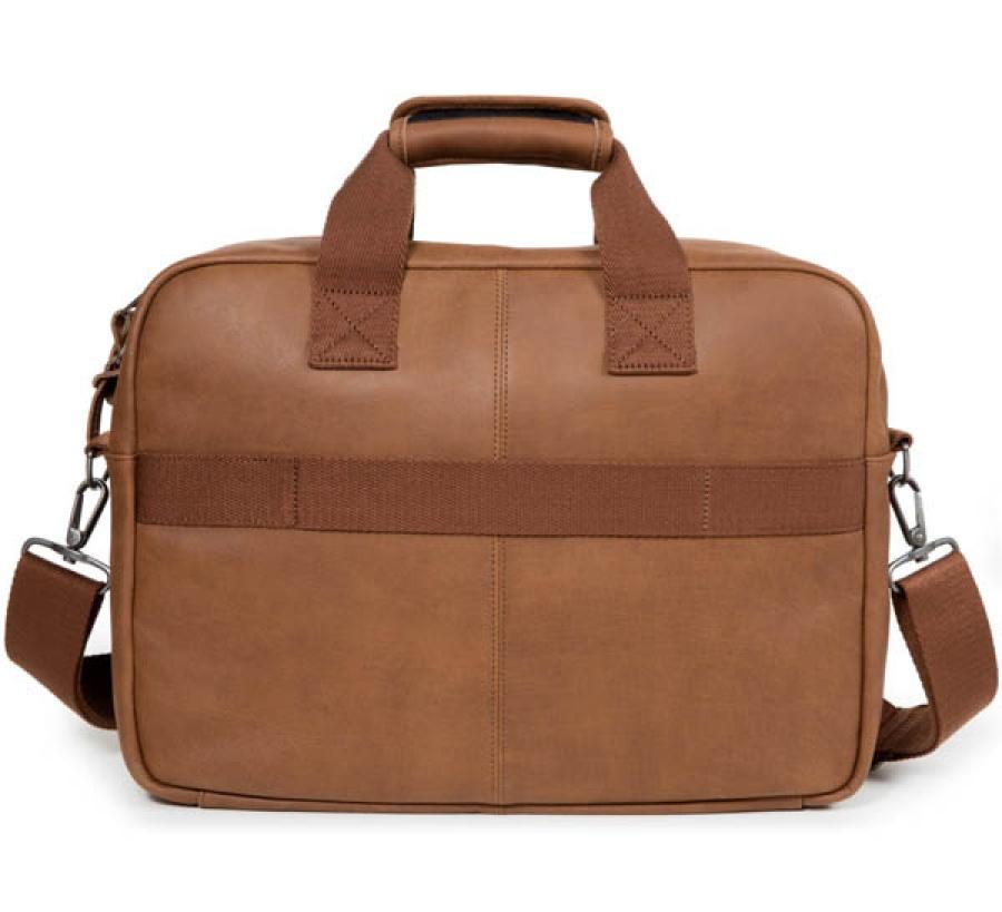 Borsa a tracolla eastpak tomec brownie leather ek023 - dettaglio 4