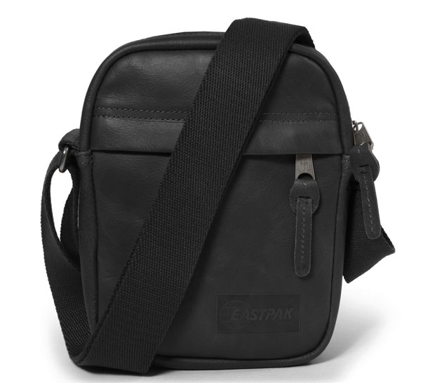Tracolla uomo eastpak the one black ink leath ek045 - dettaglio 1