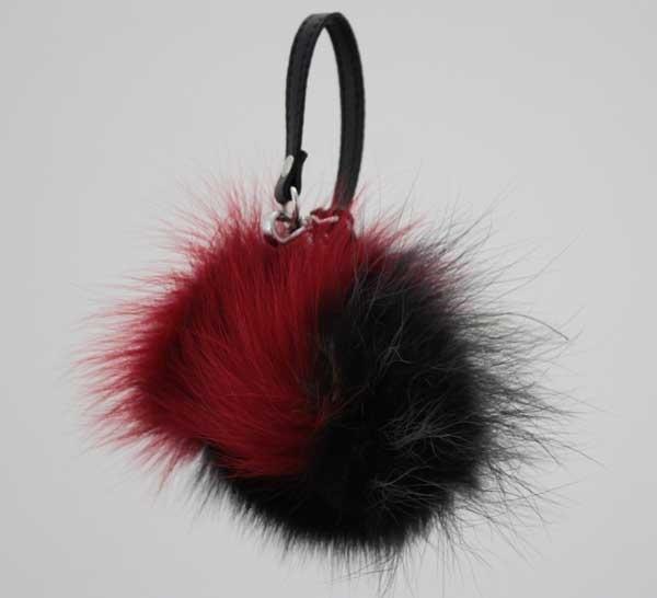 Portachiavi gianni chiarini pon multy rosso-nero - dettaglio 1