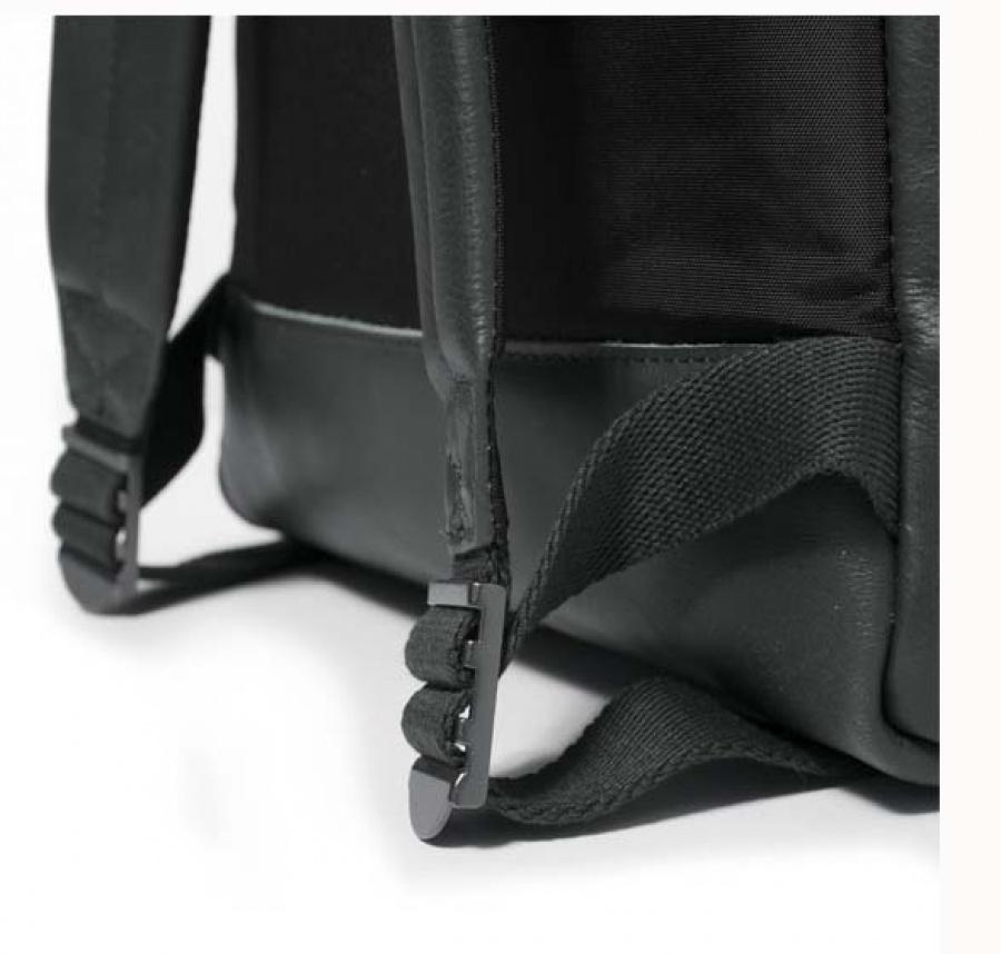 Zaino eastpak padded pak'r green leather ek620 - dettaglio 5