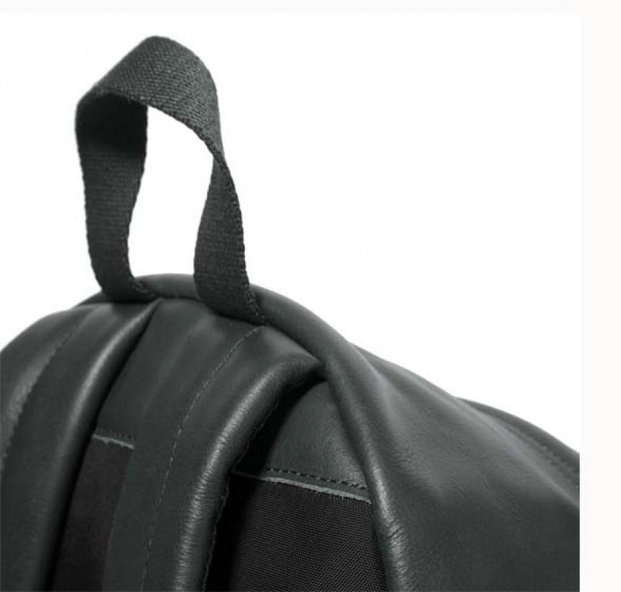 Zaino eastpak padded pak'r green leather ek620 - dettaglio 6