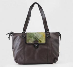 Shopping bag gabs edith.b inmues 2118 toni verdi - dettaglio 1