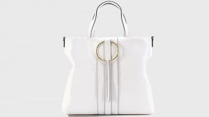 Shopping bag frida gianni chiarini 6323 sfy gesso - dettaglio 1