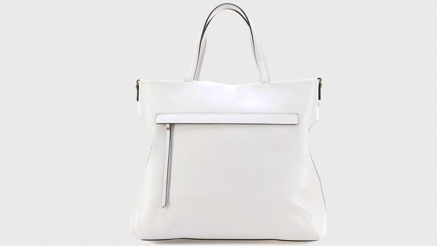 Shopping bag frida gianni chiarini 6323 sfy gesso - dettaglio 3