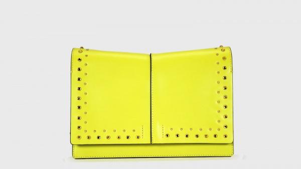 Clutch Helenita Strass Limone-Topazio - dettaglio 1
