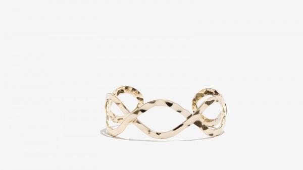 Nalì bracciale intrecciato 16176 oro - dettaglio 1