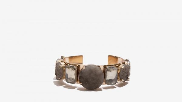 Nalì bracciale con pietre naturali 16133 grigio - dettaglio 1