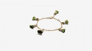 Nalì bracciale con tassel 16365 verde - dettaglio 1