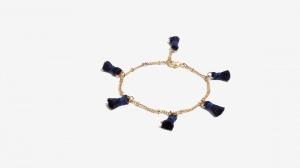 Nalì bracciale con tassel 16366 blu - dettaglio 1