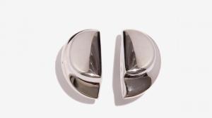 Nalì orecchini a lobo con disco 16206 argento - dettaglio 1