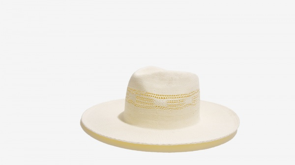 Nalì Cappello a falda larga avorio - dettaglio 1