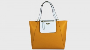 My Twin Shopping bag Bicolor Fresia e Bianco Ottico - dettaglio 1