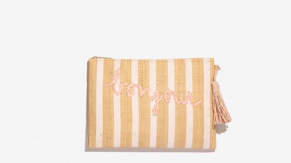 Nalì pochette bonjour 16618 rosa - dettaglio 2