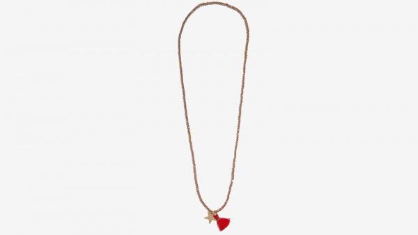 Nalì collana bracciale stella e tassel 16641 taupe - dettaglio 1