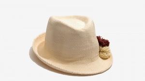 Nalì cappello pon pon 16558 bianco - dettaglio 2