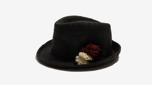 Nalì cappello pon pon 16559 nero - dettaglio 1
