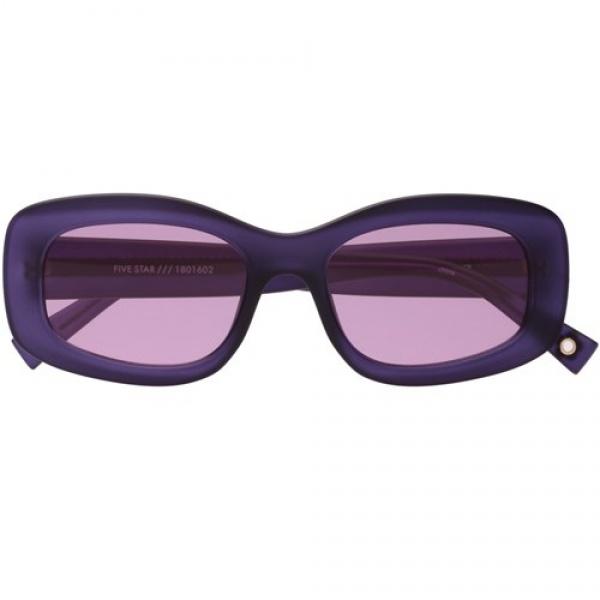 Le specs occhiali double rainbouu five star matte violet - dettaglio 1