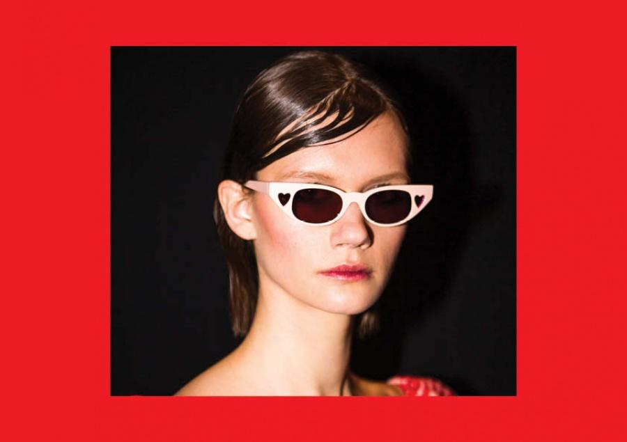 Le specs occhiali adam selman the heart breaker blush - dettaglio 4