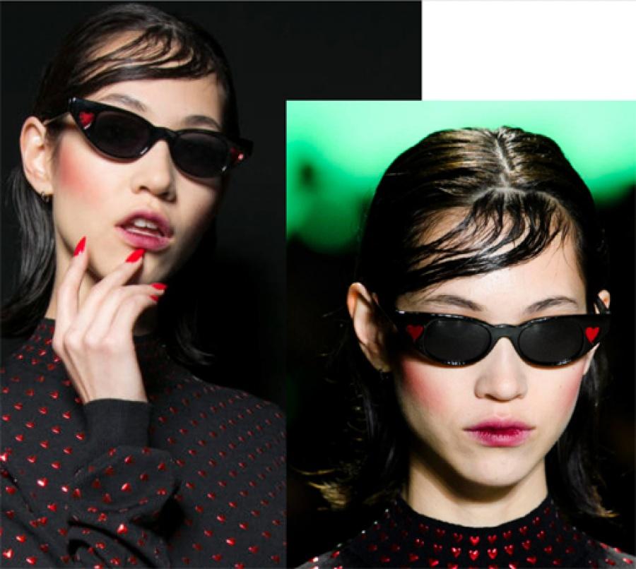 Le specs occhiali adam selman the heart breaker blush - dettaglio 5