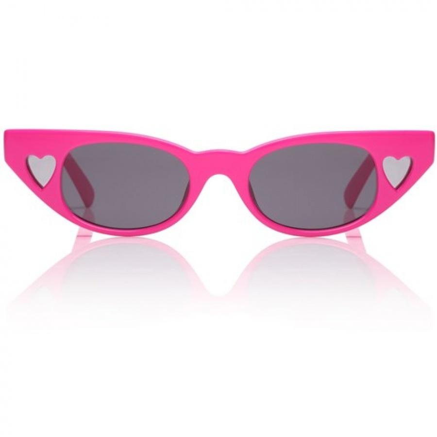 Le specs occhiali adam selman the heart breaker hot pants pink - dettaglio 1