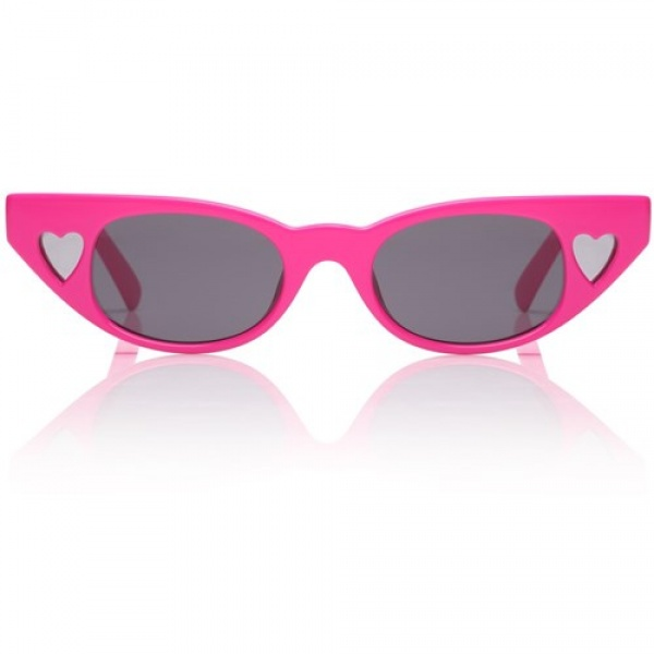 Le specs occhiali adam selman the heart breaker hot pants pink - dettaglio 1