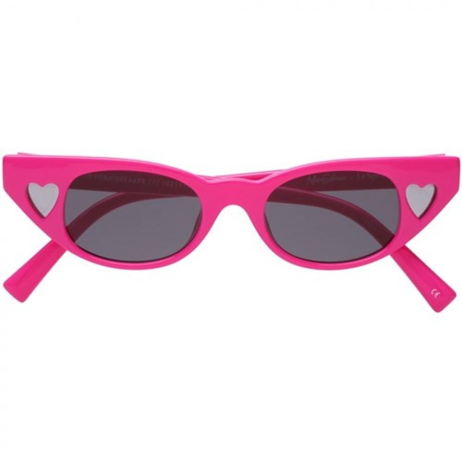 Le specs occhiali adam selman the heart breaker hot pants pink - dettaglio 3