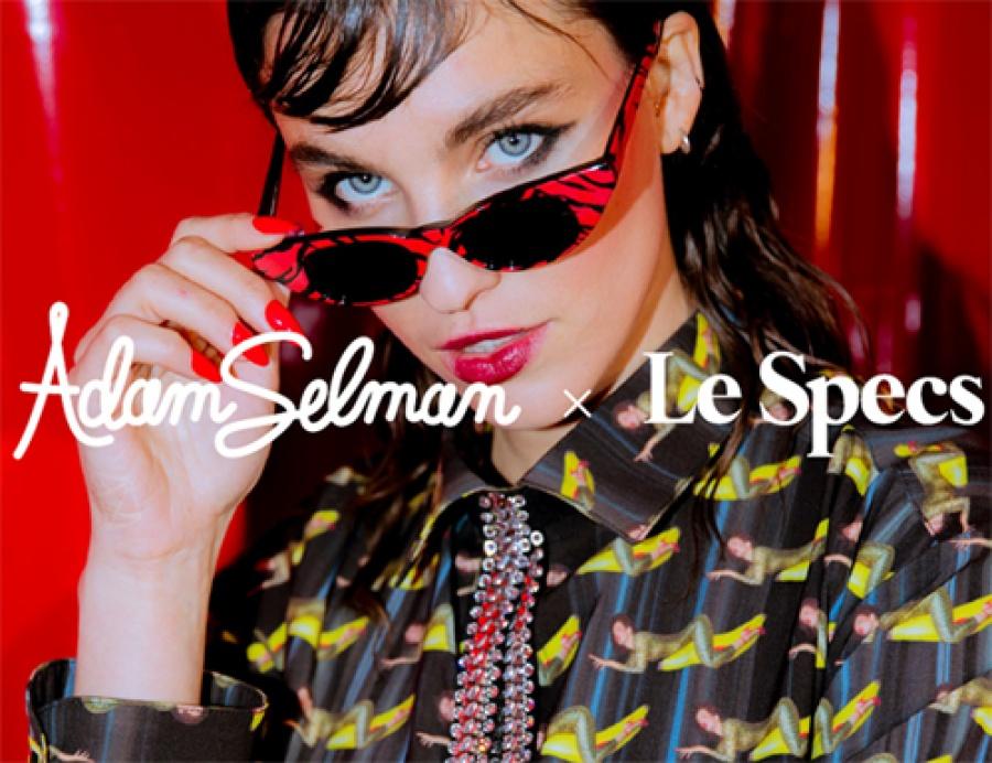 Le specs occhiali adam selman the breaker red tiger - dettaglio 4