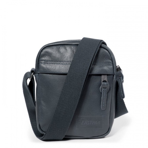 Eastpak borsa a tracolla the one steel leather ek045-24u - dettaglio 1