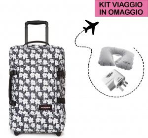 Eastpak valigia tranverz s andy warhol floral ek61l-13u - dettaglio 1