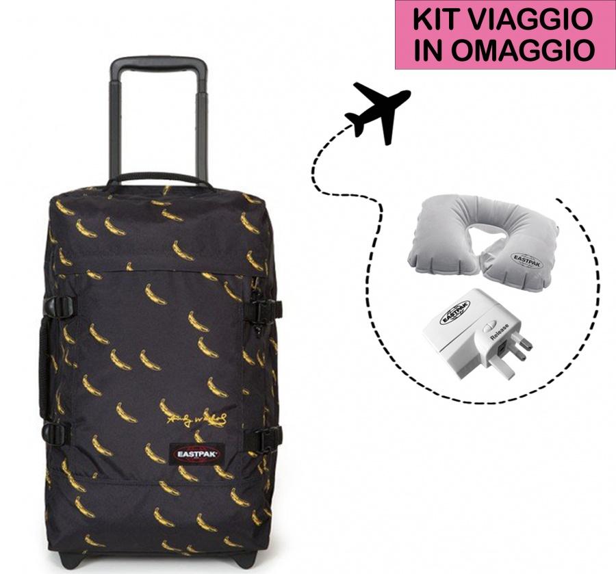03379872d2 Eastpak valigia tranverz s andy warhol banana ek61l-14u - dettaglio 1