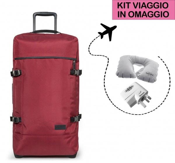 Eastpak valigia tranverz m constructed merlot ek62l-32s - dettaglio 1