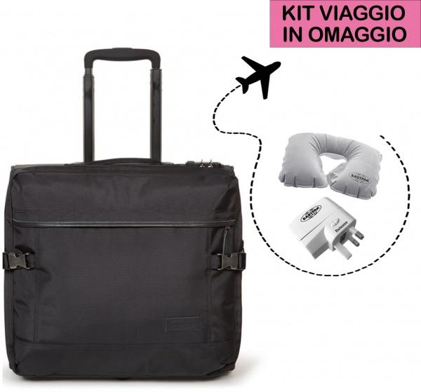 Eastpak valigia tranverz h constructed black ek44d-46q - dettaglio 1