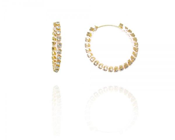Alter alter orecchini tina color cristallo - dettaglio 1