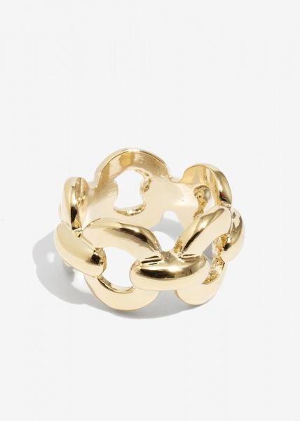 Nalì anello a catena aman0143 oro - dettaglio 1