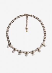 Nalì collana girocollo con perle emcl0223 oro - dettaglio 1