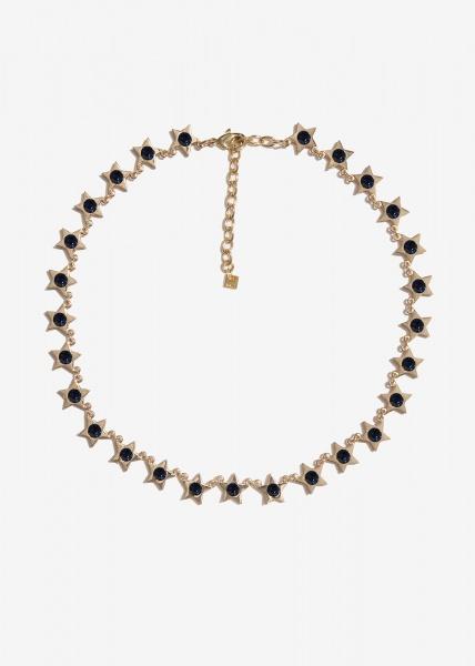 Nalì collana con stelle emcl0230 blu - dettaglio 1