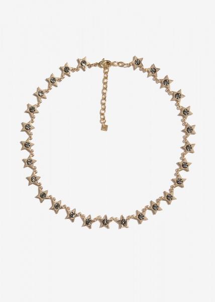 Nalì collana con stelle emcl0231 grigio - dettaglio 1