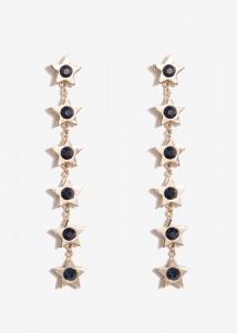 Nalì orecchini con stelle emor0260 blu - dettaglio 1