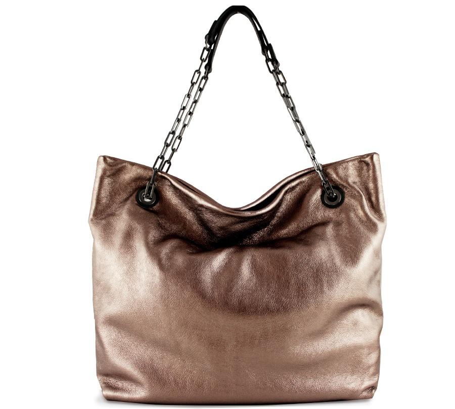 Shopping bag alice 6456 gianni chiarini 6456 lmw-se rosè e nero - dettaglio 1