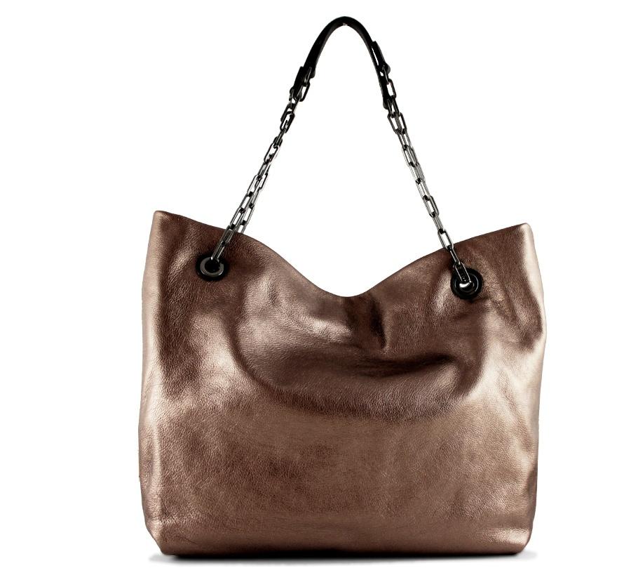Shopping bag alice 6456 gianni chiarini 6456 lmw-se rosè e nero - dettaglio 3