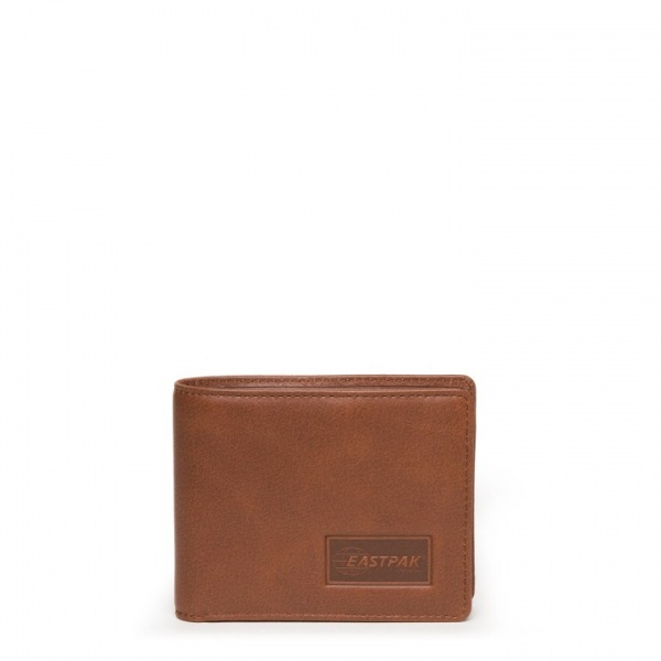 Eastpak portafoglio drew single brownie leather ek09d-08n - dettaglio 1