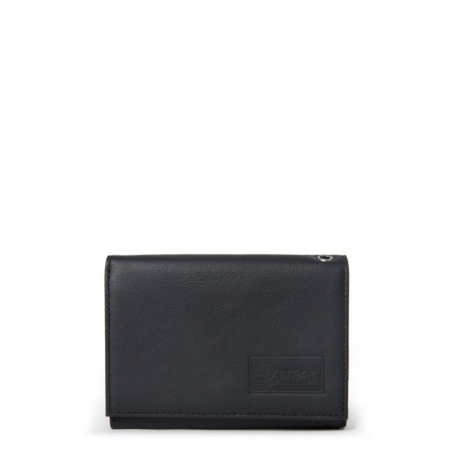 75b6528fbb Eastpak portafoglio crew single black ink leather ek371-64o - dettaglio 1
