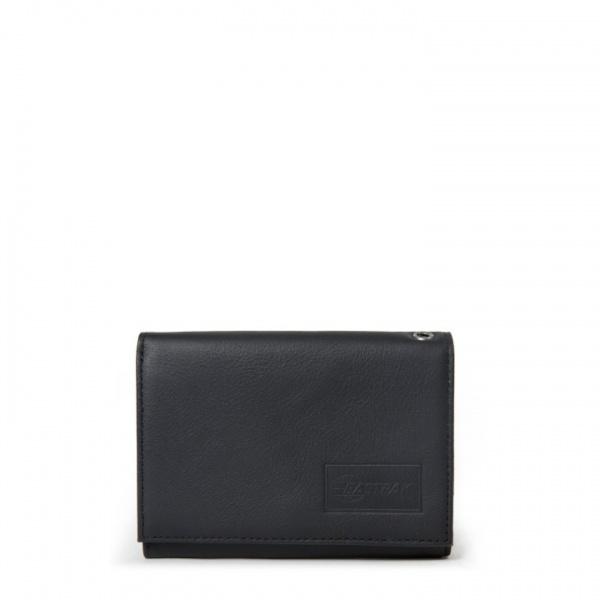 Eastpak portafoglio crew single black ink leather ek371-64o - dettaglio 1
