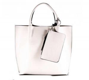 Shopping bag twenty gianni chiarini bone - dettaglio 1